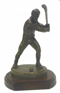 Hurling Figure on Base