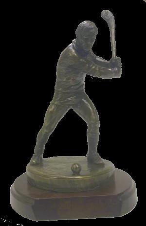 Hurling Figure on Base