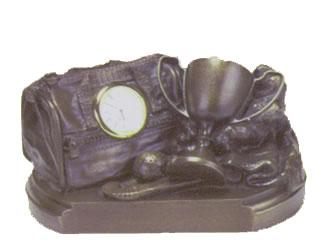 Hockey Gear Bag Clock