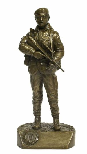 Irish Soldier Figure Female