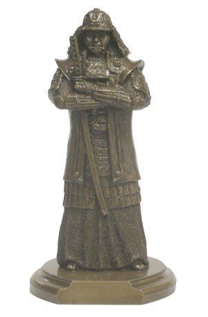 Bronze Samurai Figure