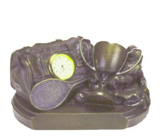 Tennis Gear Bag Clock