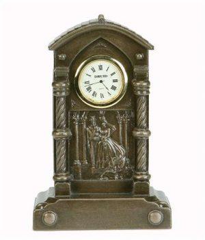 Bronze Wedding Clock
