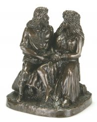Bronze Celtic Wedding Couple