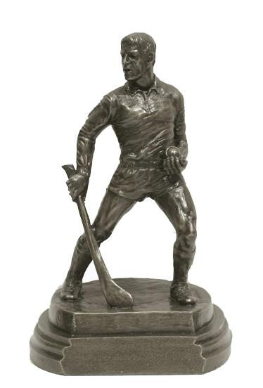 Bronze Hurling Figure