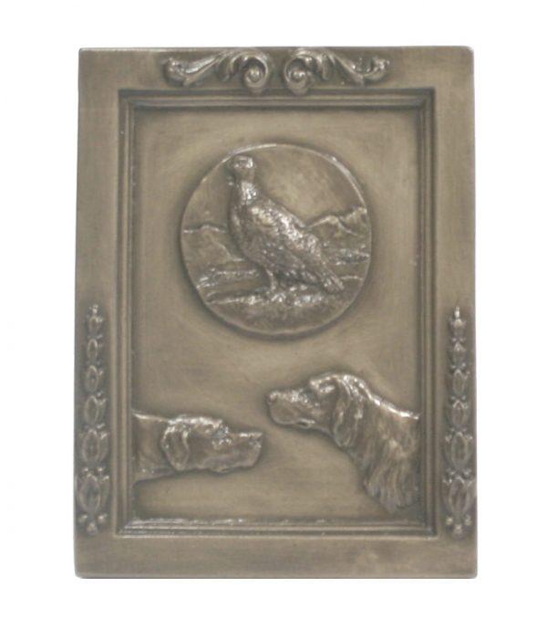 Bronze Shooting Wall Plaque