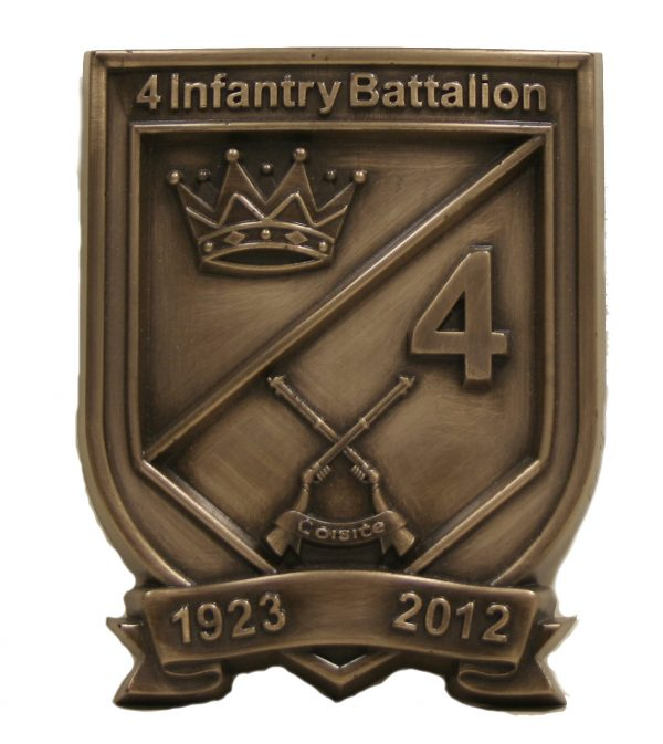 Custom Made Bronze Crests