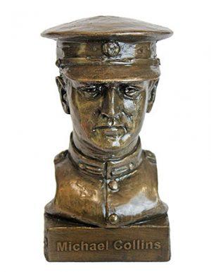 Michael Collins Bronze Bust
