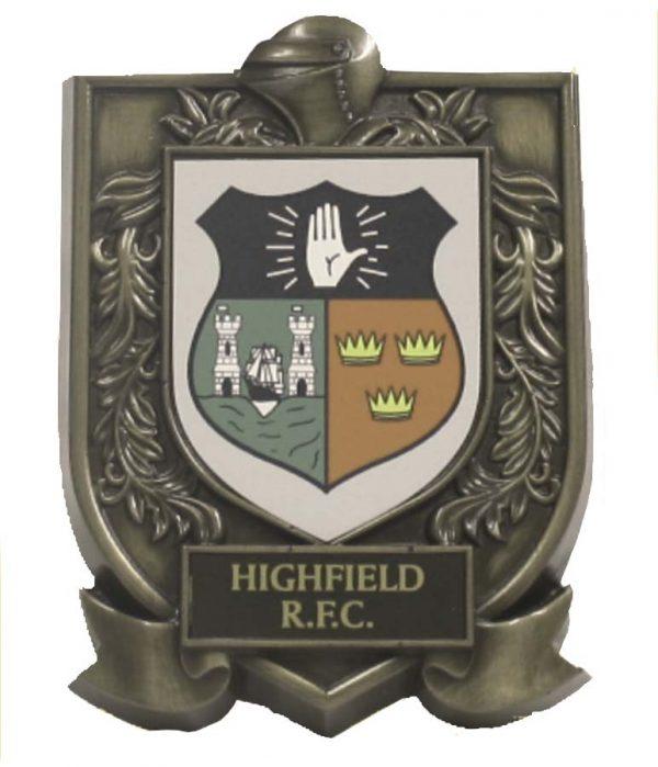 Highfield RFC Plaque